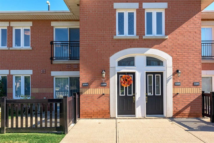 1106 - 1701 Lampman Ave - Appleby Condo Townhouse for sale, 2 Bedrooms (W5374566)
