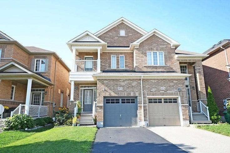 4772 Bluefeather Lane - Hurontario Semi-Detached for sale, 3 Bedrooms (W5375685)