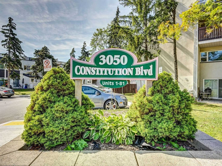 10 - 3050 Constitution Blvd - Applewood Condo Townhouse for sale, 3 Bedrooms (W5375910)