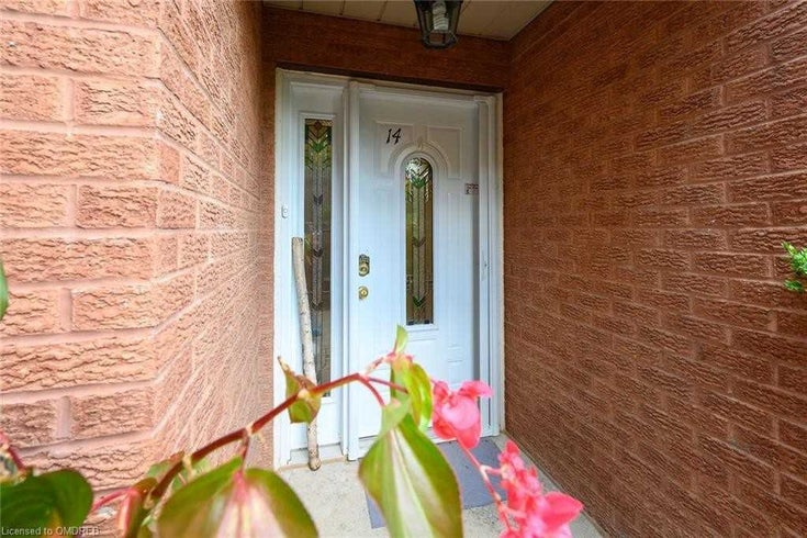 14 - 530 Falgarwood Dr - Iroquois Ridge South Condo Townhouse for sale, 3 Bedrooms (W5376972)