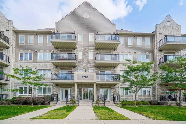 101 - 5705 Long Valley Rd - Churchill Meadows Condo Apt for sale, 1 Bedroom (W5377088)