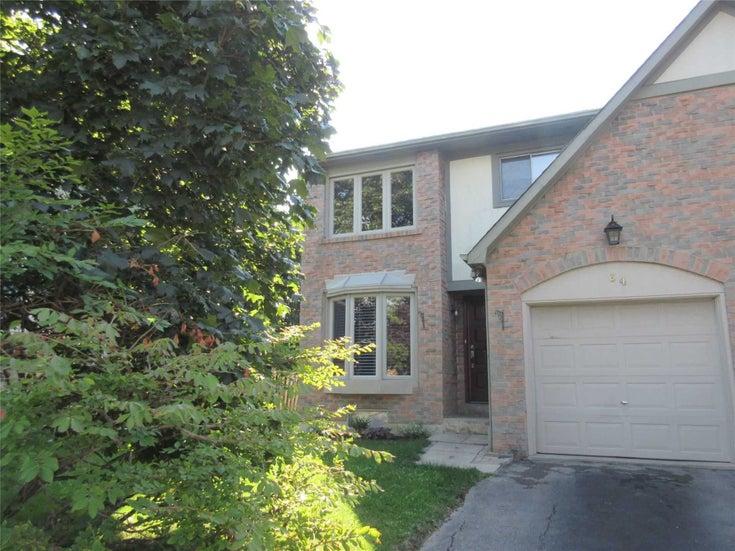 64 Millsborough Cres - Eringate-Centennial-West Deane Semi-Detached for sale, 3 Bedrooms (W5377772)