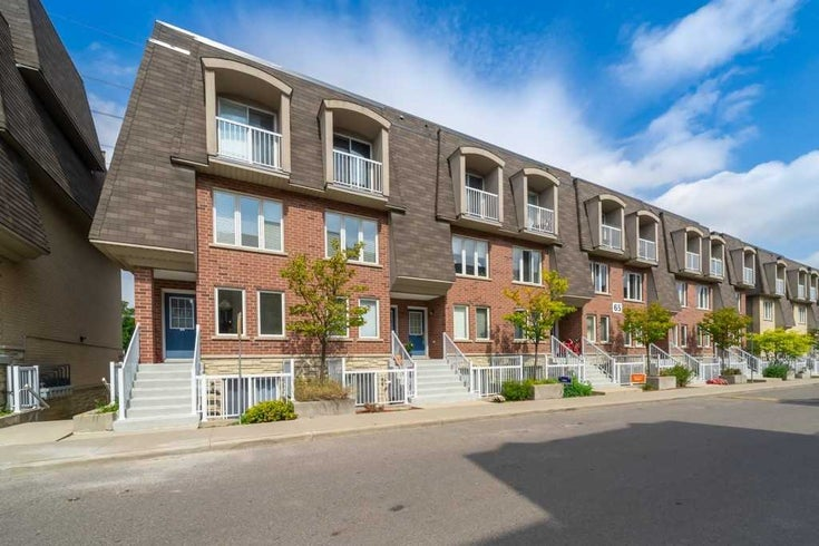 95 - 65 Turntable Cres - Dovercourt-Wallace Emerson-Junction Condo Townhouse for sale, 3 Bedrooms (W5378314)