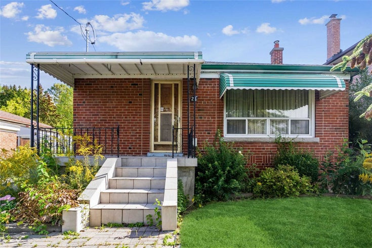 25 Clevedon St - Downsview-Roding-CFB Detached for sale, 3 Bedrooms (W5378455)