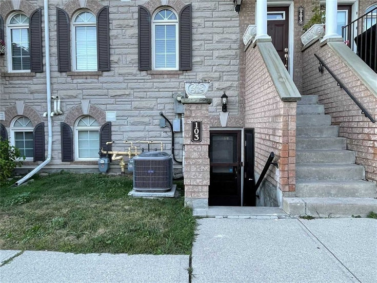 103 - 54 Sidney Belsey Cres - Weston Condo Townhouse for sale, 3 Bedrooms (W5382267)