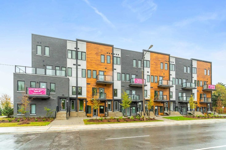 320 - 400 The East Mall - Islington-City Centre West Condo Townhouse for sale, 3 Bedrooms (W5382519)