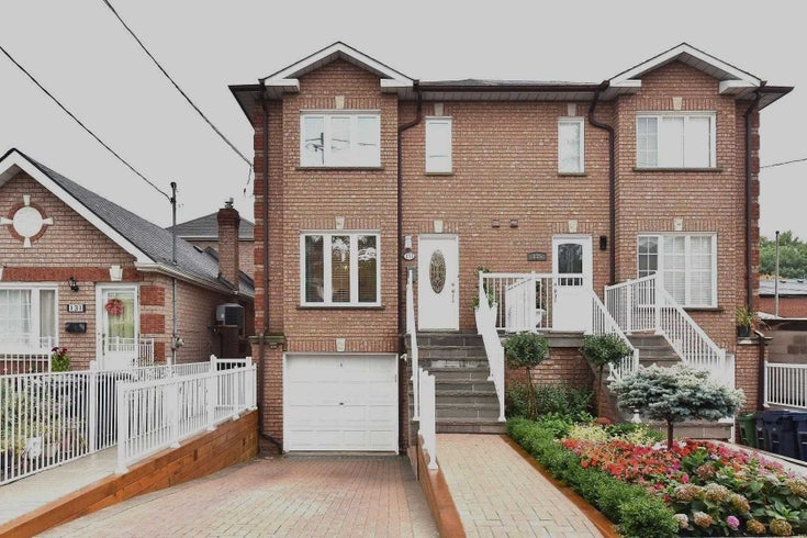 133 Kitchener Ave - Caledonia-Fairbank Semi-Detached for sale, 3 Bedrooms (W5383013)