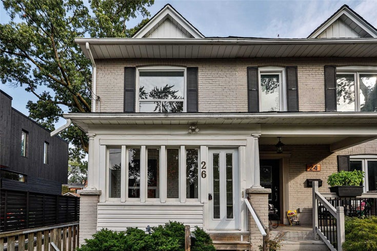 26 Maher Ave - Junction Area Semi-Detached for sale, 3 Bedrooms (W5383897)