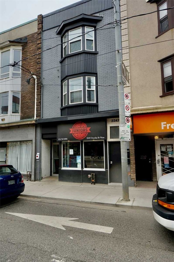 2243 Dundas St W - High Park-Swansea Store w/Apt/Offc for sale, 4 Bedrooms (W5399863)