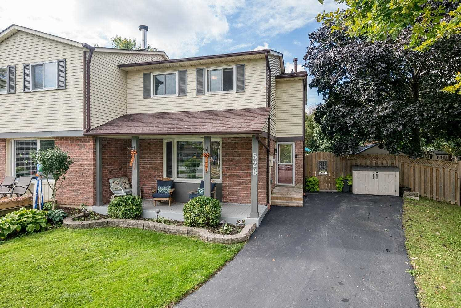 528 Conway Crt - Timberlea Semi-Detached for sale, 3 Bedrooms (W5403891)