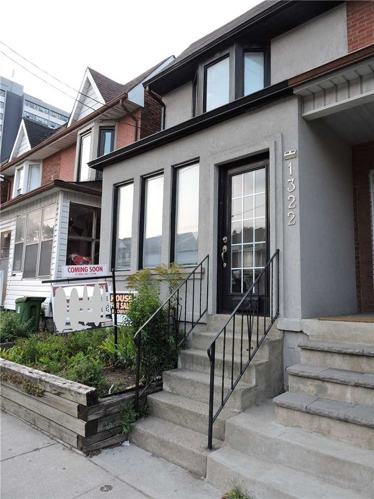 1322 Dupont St - Dovercourt-Wallace Emerson-Junction Semi-Detached for sale, 3 Bedrooms (W5404413)