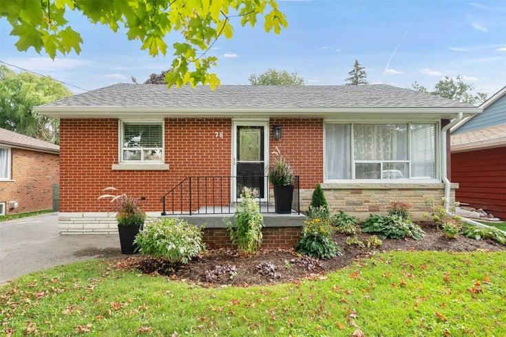 78 Elizabeth St - Orangeville Detached for sale, 2 Bedrooms (W5405717)