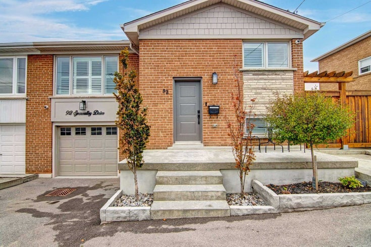 92 Spenvalley Dr - Glenfield-Jane Heights Semi-Detached for sale, 3 Bedrooms (W5406199)