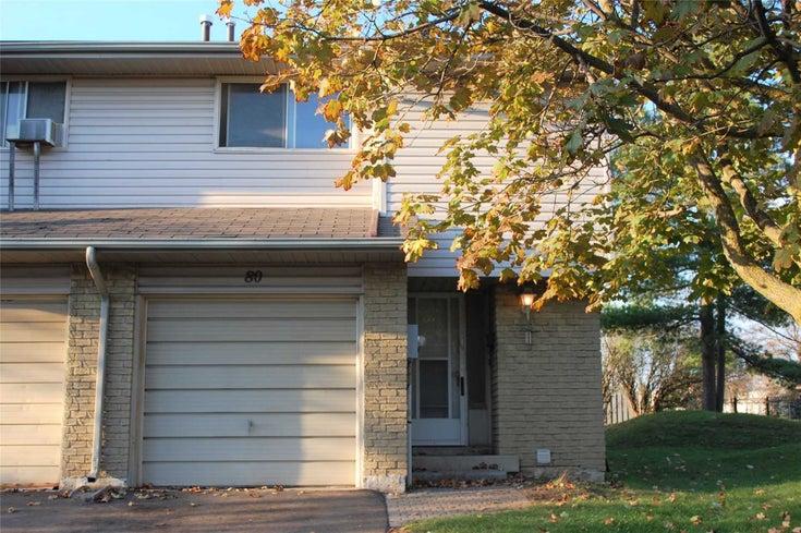 80 Orange Mill Crt - Orangeville Condo Townhouse for sale, 3 Bedrooms (W5409559)