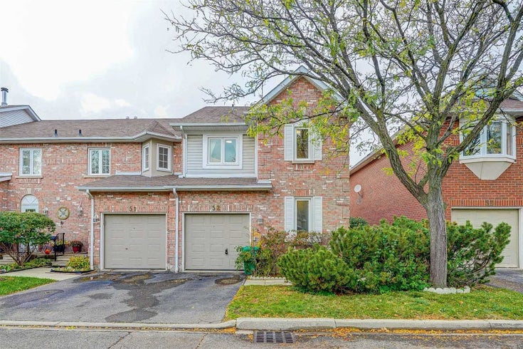 52 - 6050 Bidwell Tr - East Credit Condo Townhouse for sale, 4 Bedrooms (W5410191)