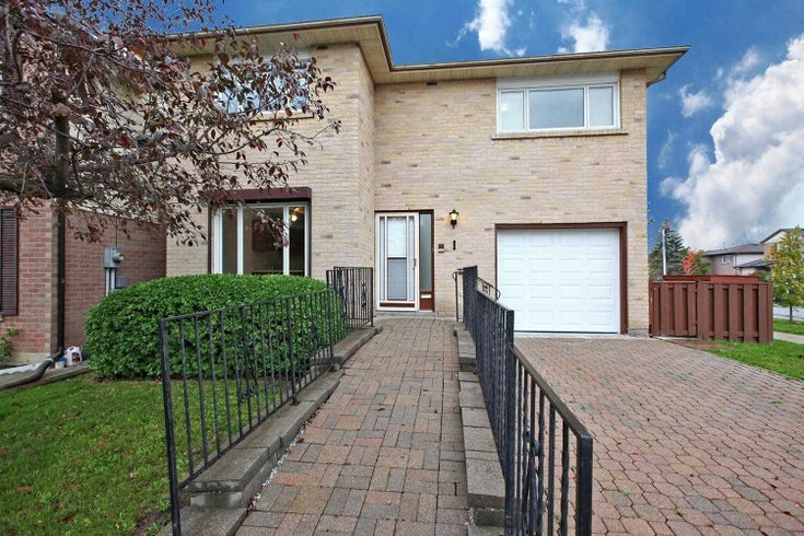 1 Willie Crt - Mount Olive-Silverstone-Jamestown Detached for sale, 3 Bedrooms (W5411340)