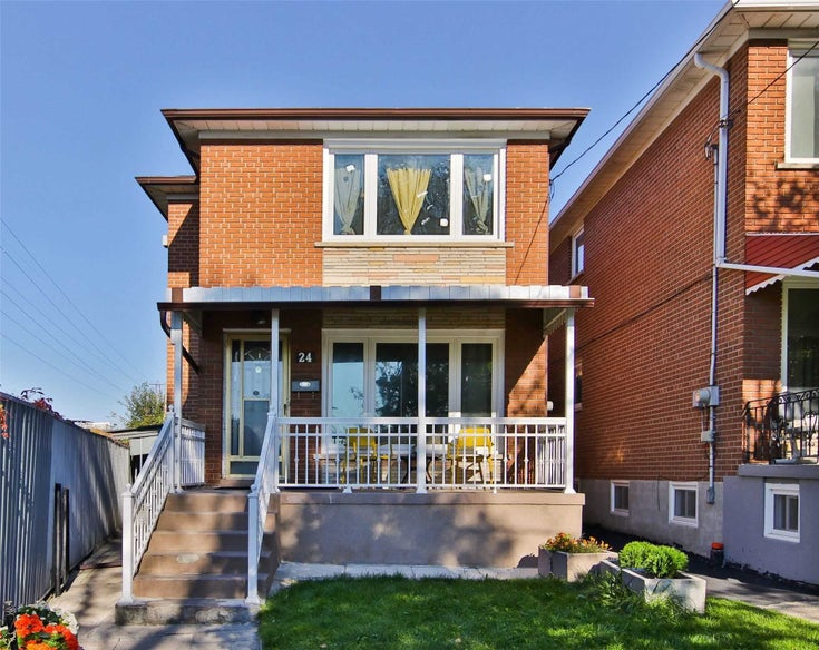 24 Lambert Ave - Corso Italia-Davenport Detached for sale, 3 Bedrooms (W5412149)