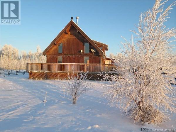 121032 TWP Rd 740 - Grande Prairie County Of  for sale, 3 Bedrooms (GP213195)