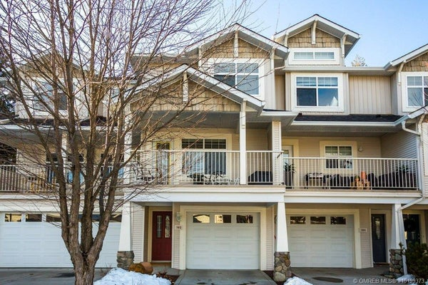 #105 3825 Glen Canyon Drive, - West Kelowna Row / Townhouse for sale, 2 Bedrooms (10199373)