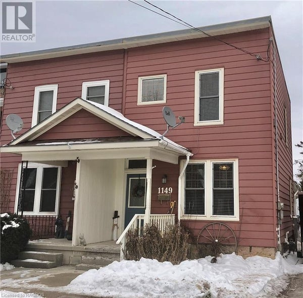 1149 3RD AVENUE W - Owen Sound Unknown for sale, 3 Bedrooms (244859)