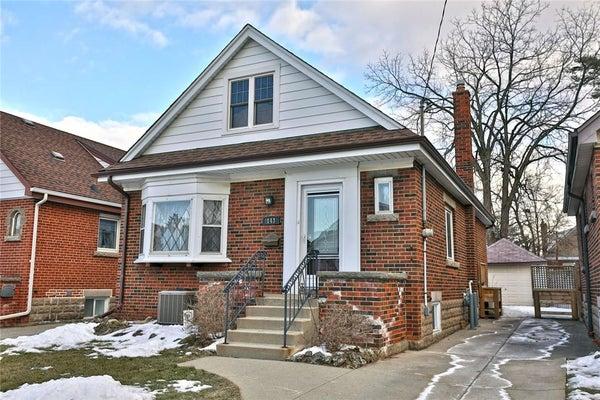 143 HUXLEY Avenue S - Hamilton House for sale, 3 Bedrooms (H4072978)