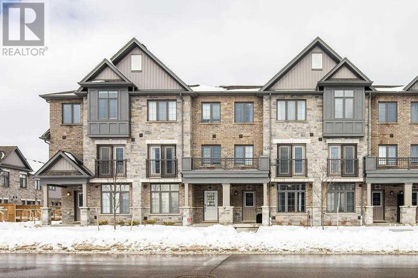 224 THOMAS SLEE DR - Kitchener Row / Townhouse for sale, 4 Bedrooms (X4699823)