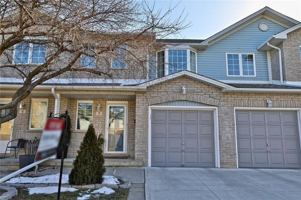 5 104 Frances Avenue - Stoney Creek Row / Townhouse for sale, 2 Bedrooms (H4073151)