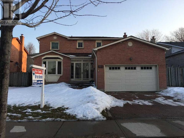 81 ADAMS DR - Ajax House for sale, 4 Bedrooms (E4701353)