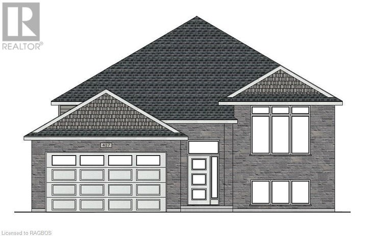 407 NORTHPORT Drive - Port Elgin House for sale, 4 Bedrooms (40137144)