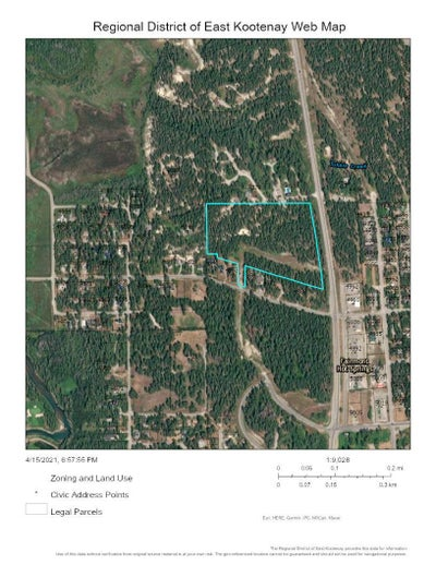 Lot 1 HIGHWAY 93/95 - Fairmont Columbia Lake for sale(2461613)
